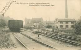 Dép 25 - Usine - Voie Ferrée - Fesches Le Chatel - Lafeschotte Du Haut - état - Otros Municipios