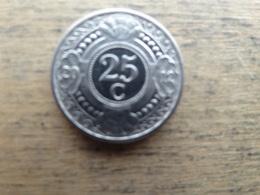 Antilles  Neerlandaises    25  Cents  2012  Km 35 - Antilles Neérlandaises