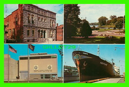 "SHIP, BATEAU - "" VENTURE "" AT MASSENA, NY - 4 MULTIVUES IN 1972 - - Commerce"
