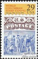 USA 2207 (kompl.Ausg.) Postfrisch 1992 Briefmarkenausstellung - Vereinigte Staaten