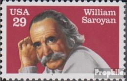 USA 2136 (kompl.Ausg.) Postfrisch 1991 William Saroyan - Vereinigte Staaten