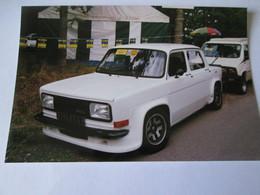 PHOTO   SIMCA  1000  RALLYE  3 - Automobiles