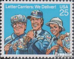 USA 2048 (kompl.Ausg.) Postfrisch 1989 Briefträger - Vereinigte Staaten