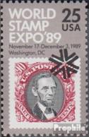 USA 2036 (kompl.Ausg.) Postfrisch 1989 Briefmarkenausstellung - Vereinigte Staaten