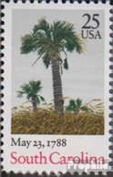 USA 1979 (kompl.Ausg.) Postfrisch 1988 Verfassung South Carolina - Vereinigte Staaten