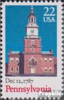 USA 1942 (kompl.Ausg.) Postfrisch 1987 Verfassung Pennysylvania - Vereinigte Staaten