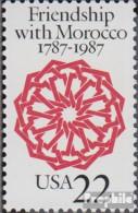 USA 1934 (kompl.Ausg.) Postfrisch 1987 Beziehung Zu Marokko - Vereinigte Staaten