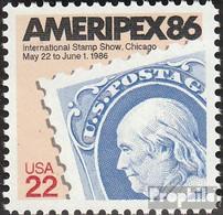 USA 1753 (kompl.Ausg.) Postfrisch 1985 Briefmarkenaustellung - Vereinigte Staaten