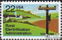USA 1752 (kompl.Ausg.) Postfrisch 1985 Amt Elektrifizierung - Vereinigte Staaten