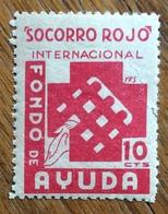 SOCCORRO ROJO INTERNACIONAL 10 C.FONDO DE AYUDA - Erinnophilie