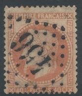 Lot N°46978  Variété/n°31, Oblit GC 456 Besançon, Doubs (24), Fond Ligné Vertical ??? - 1863-1870 Napoleon III With Laurels