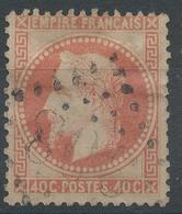 Lot N°46980  Variété/n°31, Oblit GC 908 Chartres, Eure-et-Loir (27), Filets - 1863-1870 Napoleon III With Laurels
