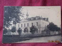 CPA - Crécy-Couvé - La Mairie - France