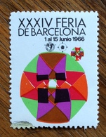 XXXIV FERIA DE BARCELONA  1966 - Erinnophilie