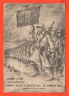 Legione Camicie Nere Tagliamento Da Peschiera Verona 1958 Adunata Reduci Nel 15° Spedizione In Russia - Regiments