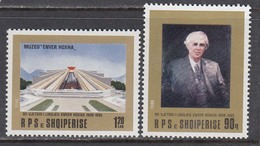 Albania 1988 - Enver Hoxha, Mi-Nr. 2379/80, MNH** - Albanie