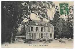 EURE ET LOIR  UNVERRE - Vue Du Château - Bottes De Foin - Andere Gemeenten