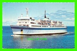 "SHIP, BATEAU - "" CAMILLE MARCOUX "" - TRAVERSIER ENTRE MATANE ET BAIE-COMEAU - CIRCULÉE EN 1986 - SERGE PAYEUR PHOTO - - Ferries"