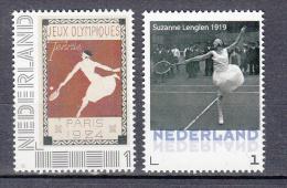 Nederland Tennis Met Jeux Olympiques Paris 1924 + Suzanne Lenglen 1919 - Periode 2013-... (Willem-Alexander)