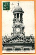 LOL210, Cambrai, Hôtel De Ville, Marti - Martine, 70, Circulée 1908 - Cambrai