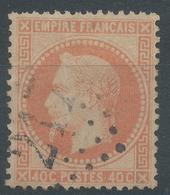 Lot N°46983  Variété/n°31, Oblit GC 217 Audincourt, Doubs (24), Ind3, Filet, Fond Ligné - 1863-1870 Napoleon III With Laurels