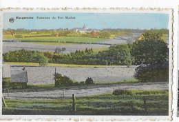 BELGIQUE - MOMIGNIES - MACQUENOISE -Panorama Du Fort Mathot -Pub Café De La Route Verte    BA - Momignies