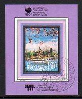 YUGOSLAVIA 1988 Olympic Games, Seoul Used.  Michel Block 32 - Blocs-feuillets