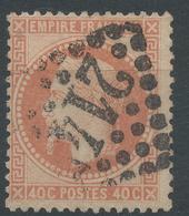 Lot N°46986  N°31, Oblit GC 2145 Lyon, Rhone (68) - 1863-1870 Napoleon III With Laurels