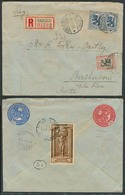 FINLAND. 1925 (12 March). Helsinki - Malta / Birchircara (20 March). Reg Multifkd 5 Mark Rate Env. Reverse Philatelic. E - Finland