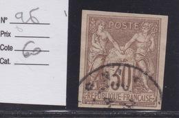 COLONIES FRANCAISES - EMISSIONS GENERALES : N°26. Cote 60€. Oblitéré. - Sage