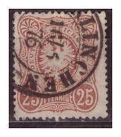 DR: (1876) Nr. 35a, Gestempelt - Gebruikt