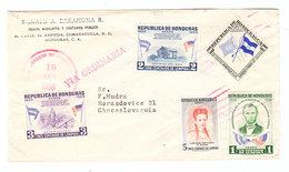 Honduras VIA ORDINARIA COVER 1959 - Honduras