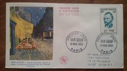 Premier Jour  FDC..  VAN GOGH .. 1956 .. PARIS - Other