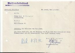 Reichsarbeitdienst St Avold 1942 Occupation Allemande Moselle - Historical Documents