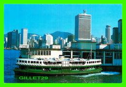 "SHIP, BATEAU - "" STAR FERRY "" POST CARD FROM HONG KONG - - Ferries"