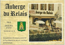 Saulieu-Auberge Du Relais (CPM) - Saulieu