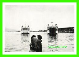 """SHIP, BATEAU - """" TRAVERSIER """" JOHN VINK, NAPOLI, 1984 - TIRAGE LIMITÉ, 1600 Ex - - Ferries"""