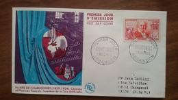 Premier Jour  FDC..  CHARDONNET  ..1955 .. BESANCON .. Chimiste - FDC