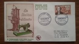 Premier Jour  FDC..  THIMONIER ..1955 ..  L' ARBRESLE  ... Inventeur - Other