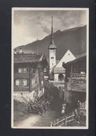 Schweiz Feldpost Beobachtungsposten Bell-Turm Bat. 70 Auf AK Münster Oberwallis - Switzerland