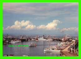 SHIP, BATEAU DE PÊCHE - QUAI DE CARAQUET - PHOTO M. & D. - - Pêche