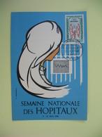 Carte Maximum 1962  N° 1339  Cachet De Paris - Cartes-Maximum