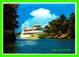 SHIP, BATEAUX - THOUSAND ISLAND CRUISE BOATS, GANANOQUE, ONTARIO - PHOTO DECOR LTD - - Commerce