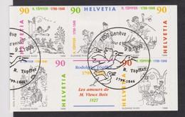 SUISSE 1999:  1/2 Bande-carnet  Oblitérée - Markenheftchen