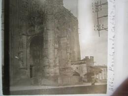 ALBI -  PORCHE DE LA CATHEDRALE   - 1929 -  Plaque De Verre Stéréoscopique 6 X 13 - TBE - Plaques De Verre