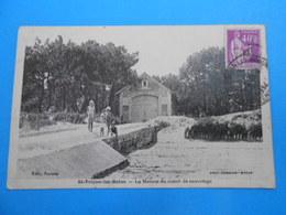 17 ) Ile D'oléron - Saint-trojan - La Maison Du Canot De Sauvetage - Année  - EDIT : Combier - Ile D'Oléron