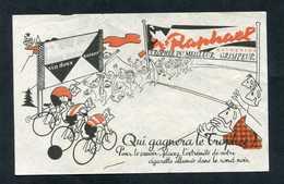 """Publicité """"Appéritif St Raphaël - Trophée Du Meilleur Grimpeur"""" Cyclisme - Illustrateur : Dero - Publicidad"""