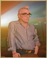 Martin Scorsese - American Filmmaker - Rare Authentic Signed Photo - Cannes 2009 - Autographs