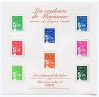 RC 11962 FRANCE BF N° 45 LES COULEURS DE MARIANNE BLOC FEUILLET NEUF ** A LA FACIALE - Ungebraucht