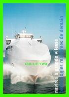 """SHIP, BATEAUX - """" DESTINATION GOTLAND """" NAVIRES À GRANDE VITESSE TECHNOLOGIES MARITIMES DE DEMAIN, 1999 - - Commerce"""